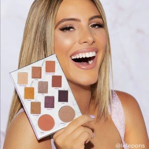 Lele Pons x tarte eye & cheek palette